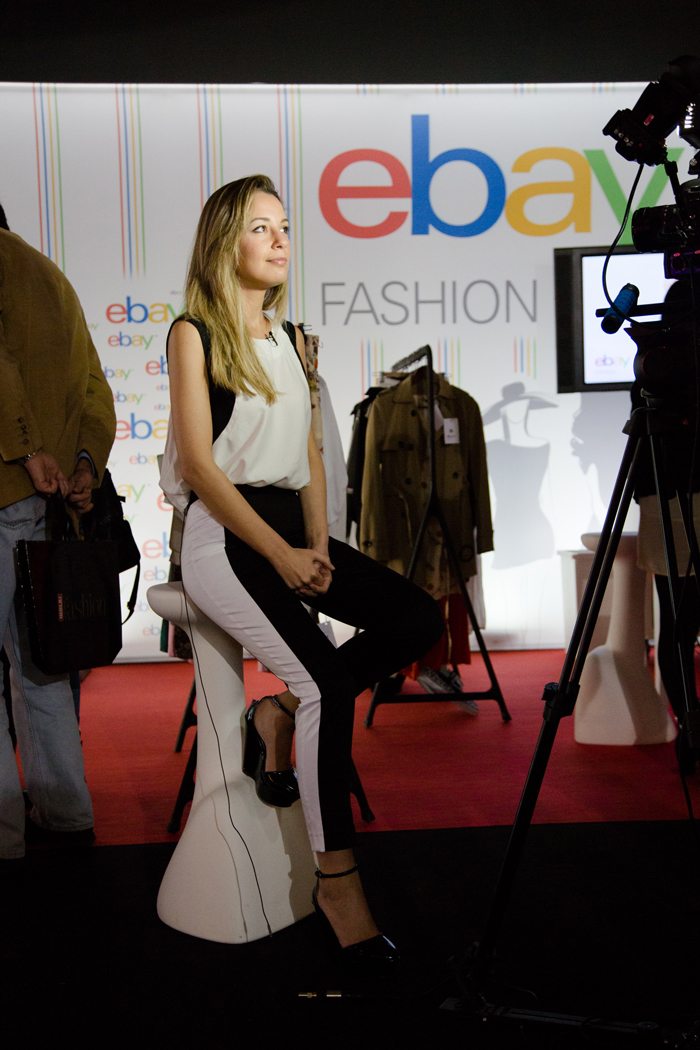 MBFWM, eBay, stand eBay, blanco y negro, look, video, reportaje, ebay fashion, fashion, Cibelespacio, Cibeles Madrid Fashion Week, MY SHOWROOM, Priscila Betancort,