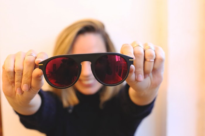 Fashion blogger, sunglasses, mirror glasses, zeroUV,