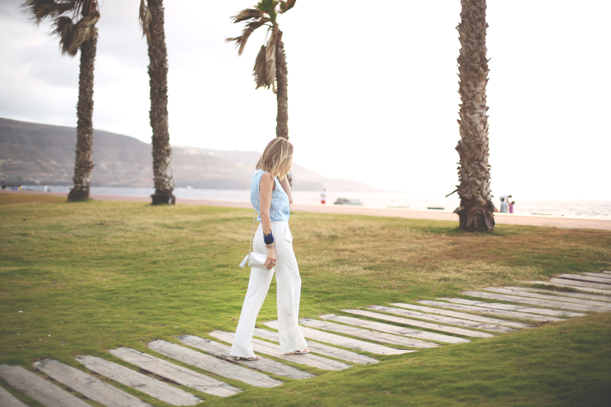 fashion blogger, my showroom, street style, gcmc 2014, gran canaria, blog de moda, white pants,