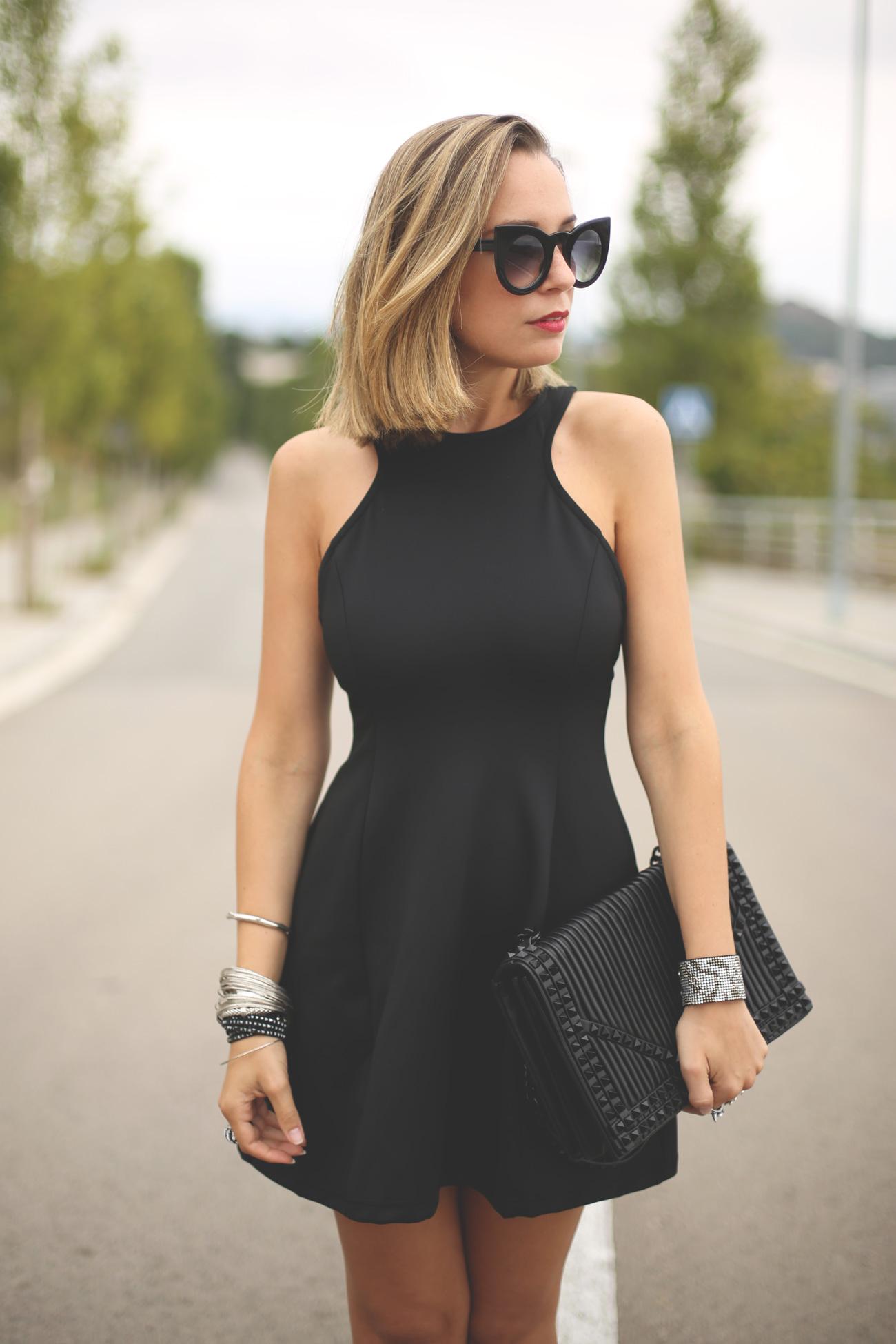 vestido sin mangas mujer