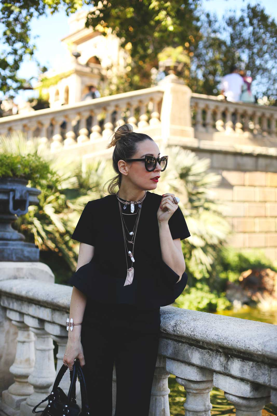 tendencia look negro total