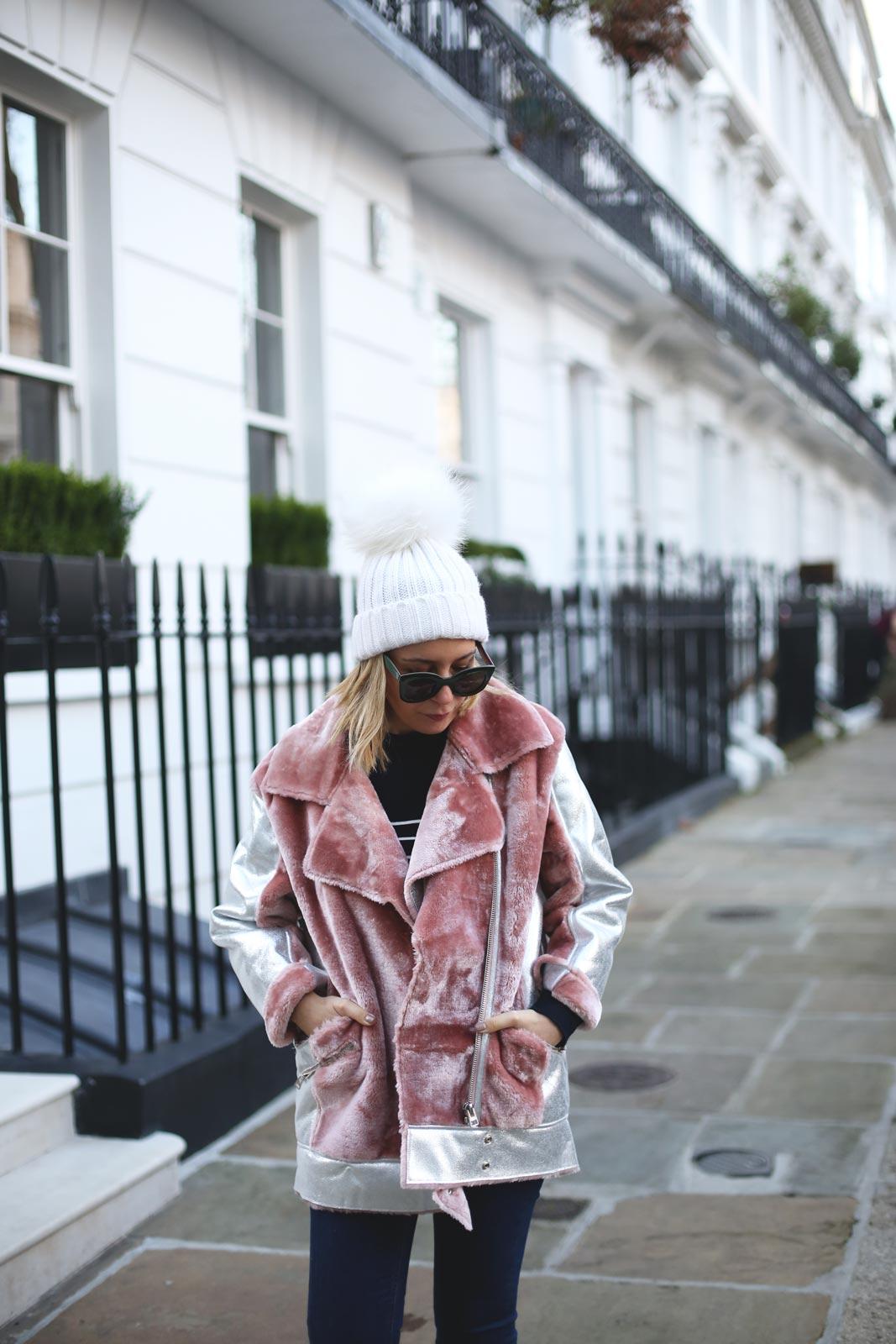 Abrigo invierno para mujer topshop