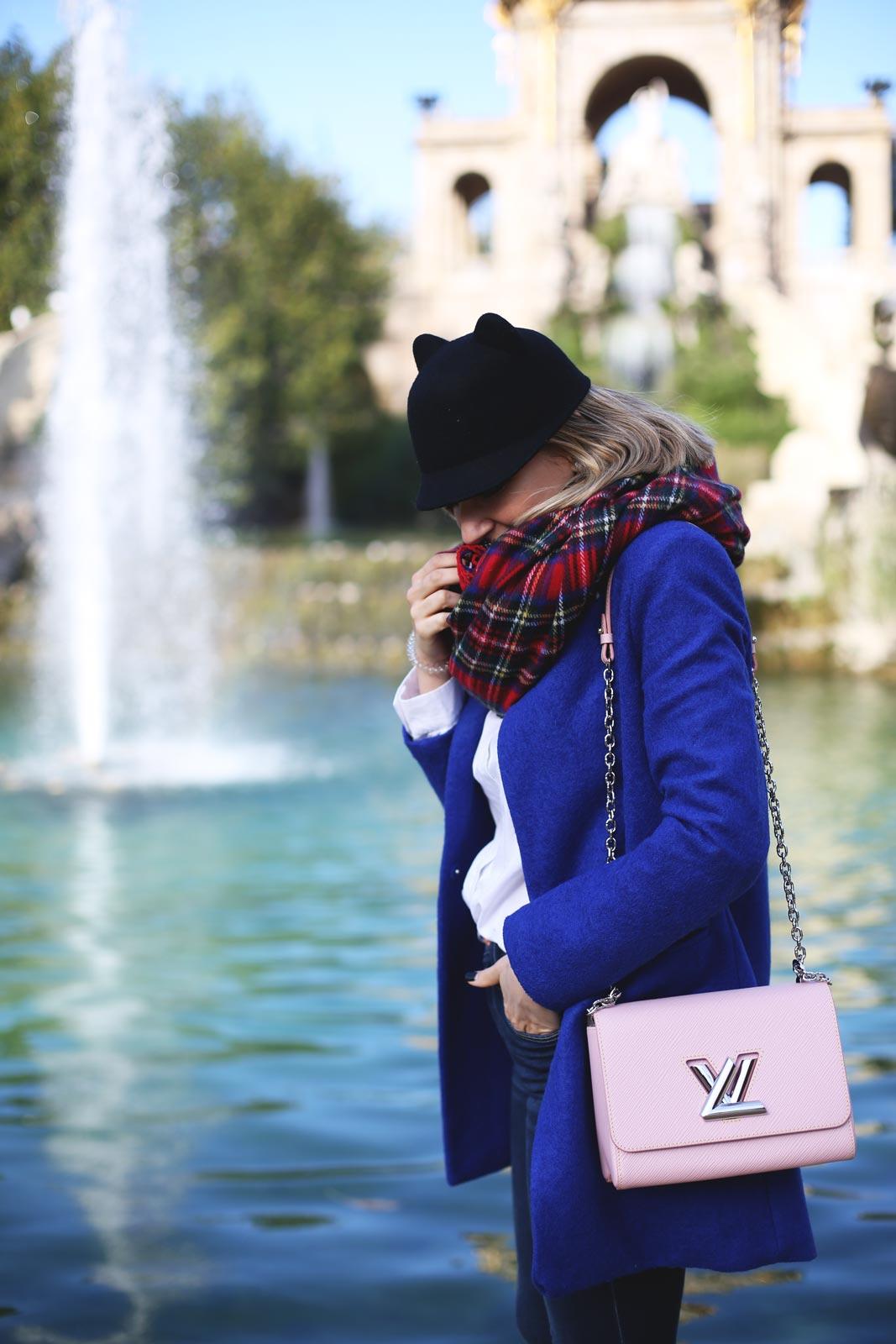 Bolso moda Twist rosa palo de Louis Vuitton