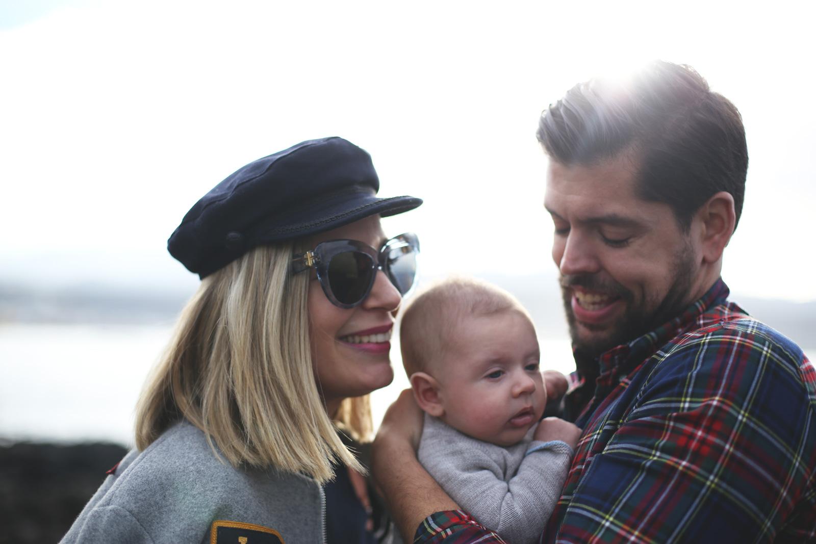blogger con bebé