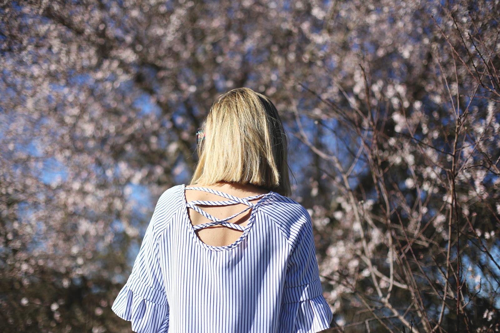 top con escote en la espalda mujer