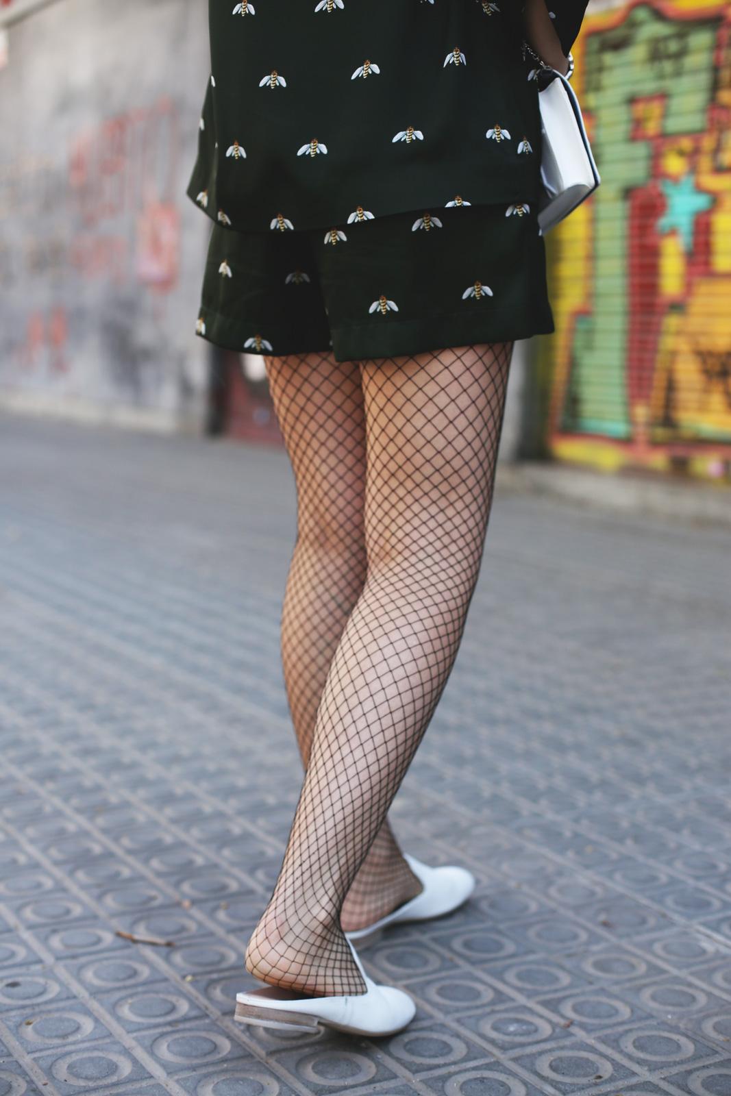 Zapatos destalonados blancos moda