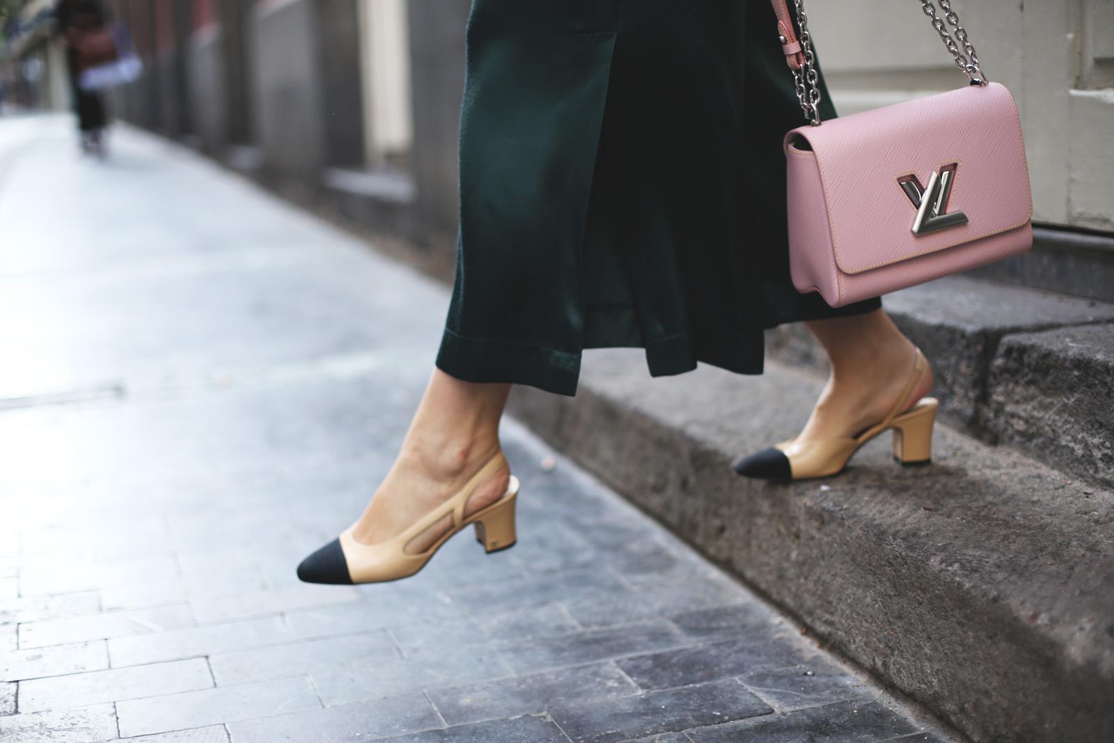 zapatos de chanel en mi blog de moda