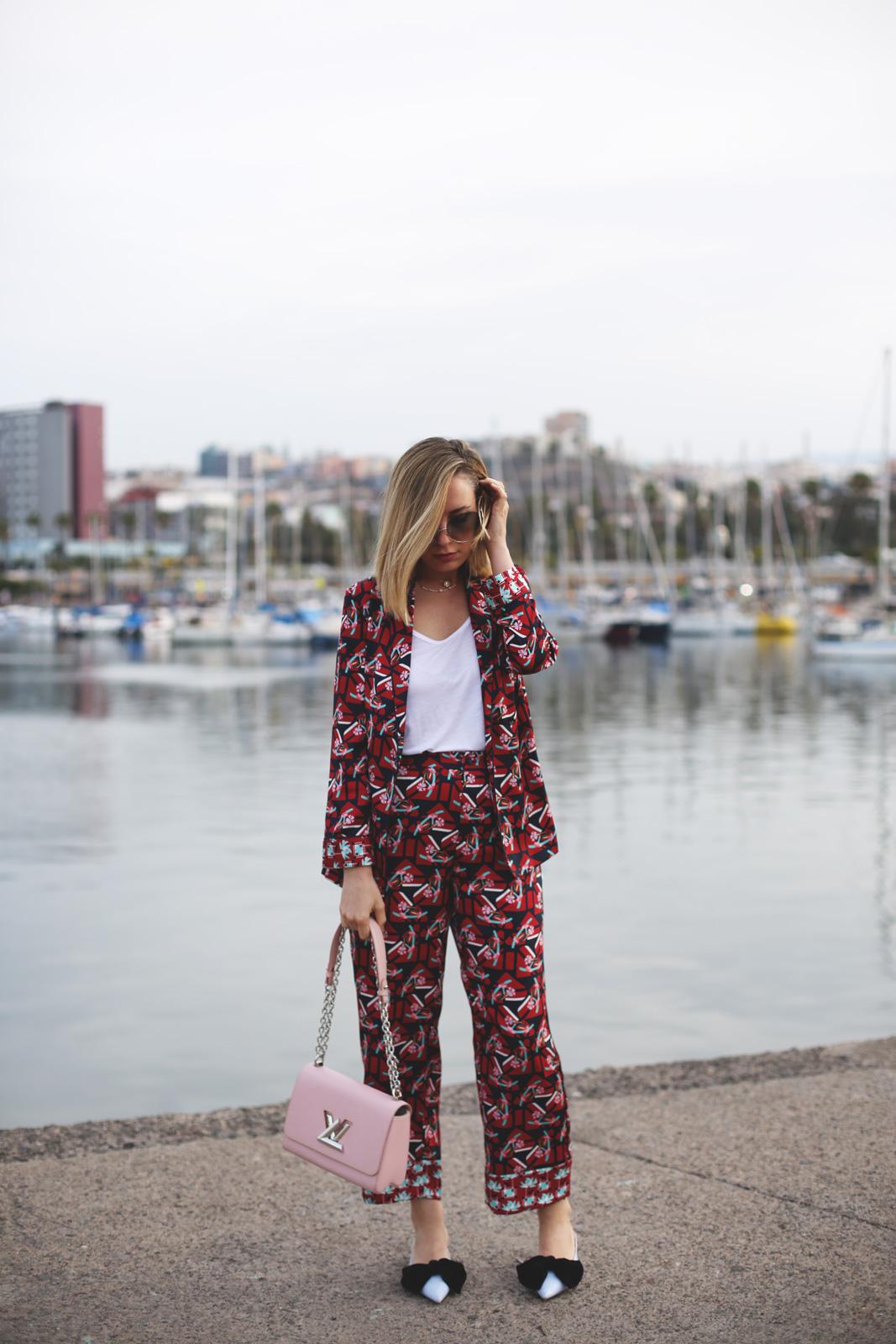 Cómo llevar la tendencia pijama.