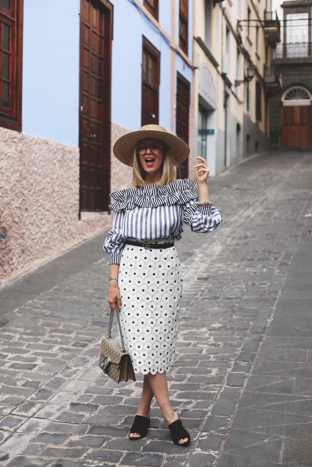 falda tubo tendencia mujer verano