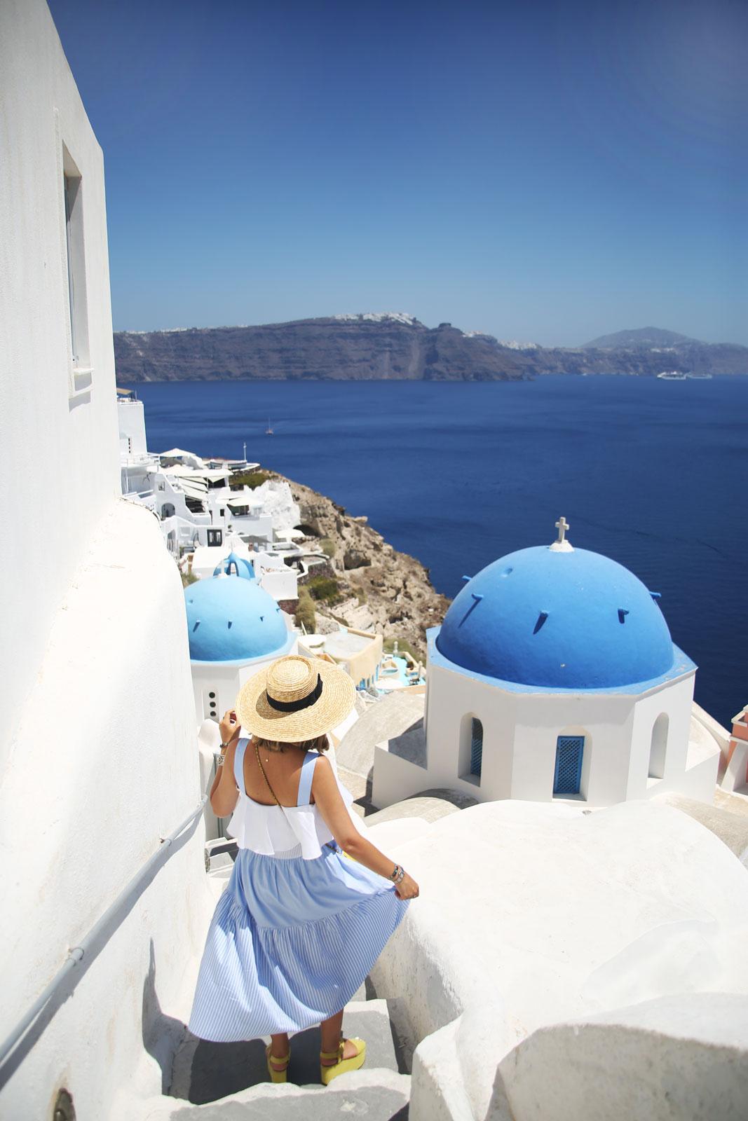mi viaje a Santorini