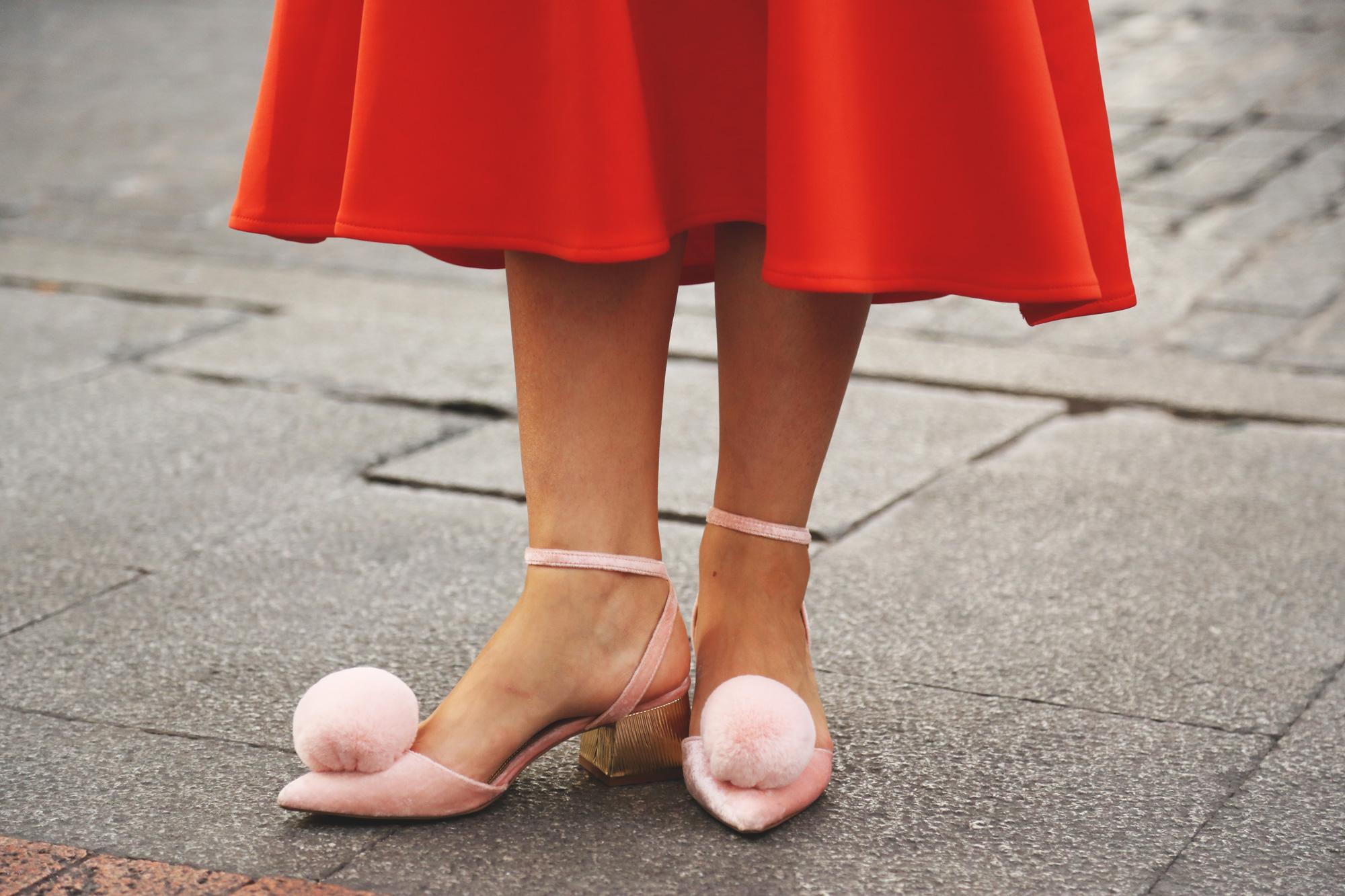 zapatos pompones asos