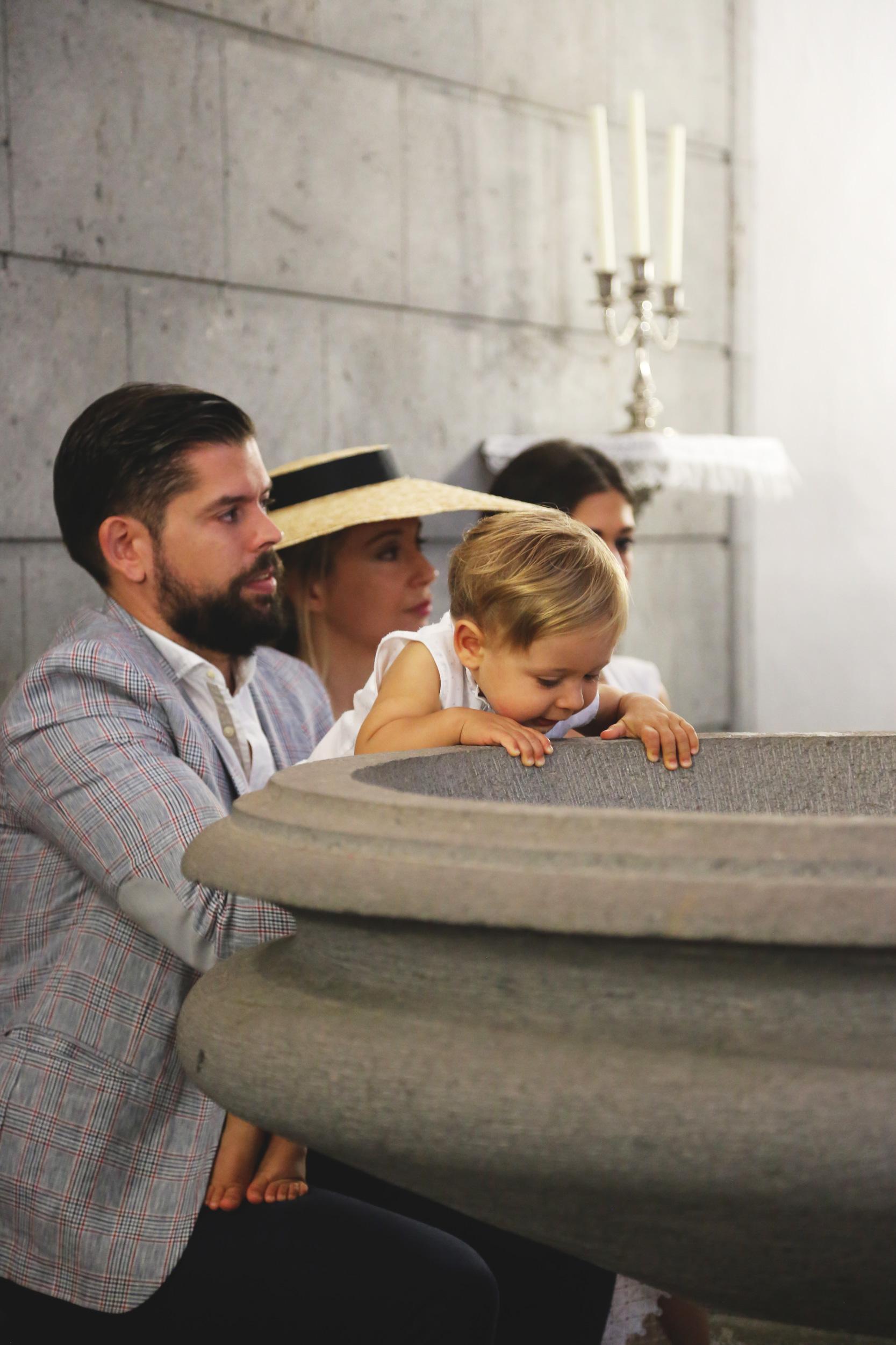 bautizo influencer familia