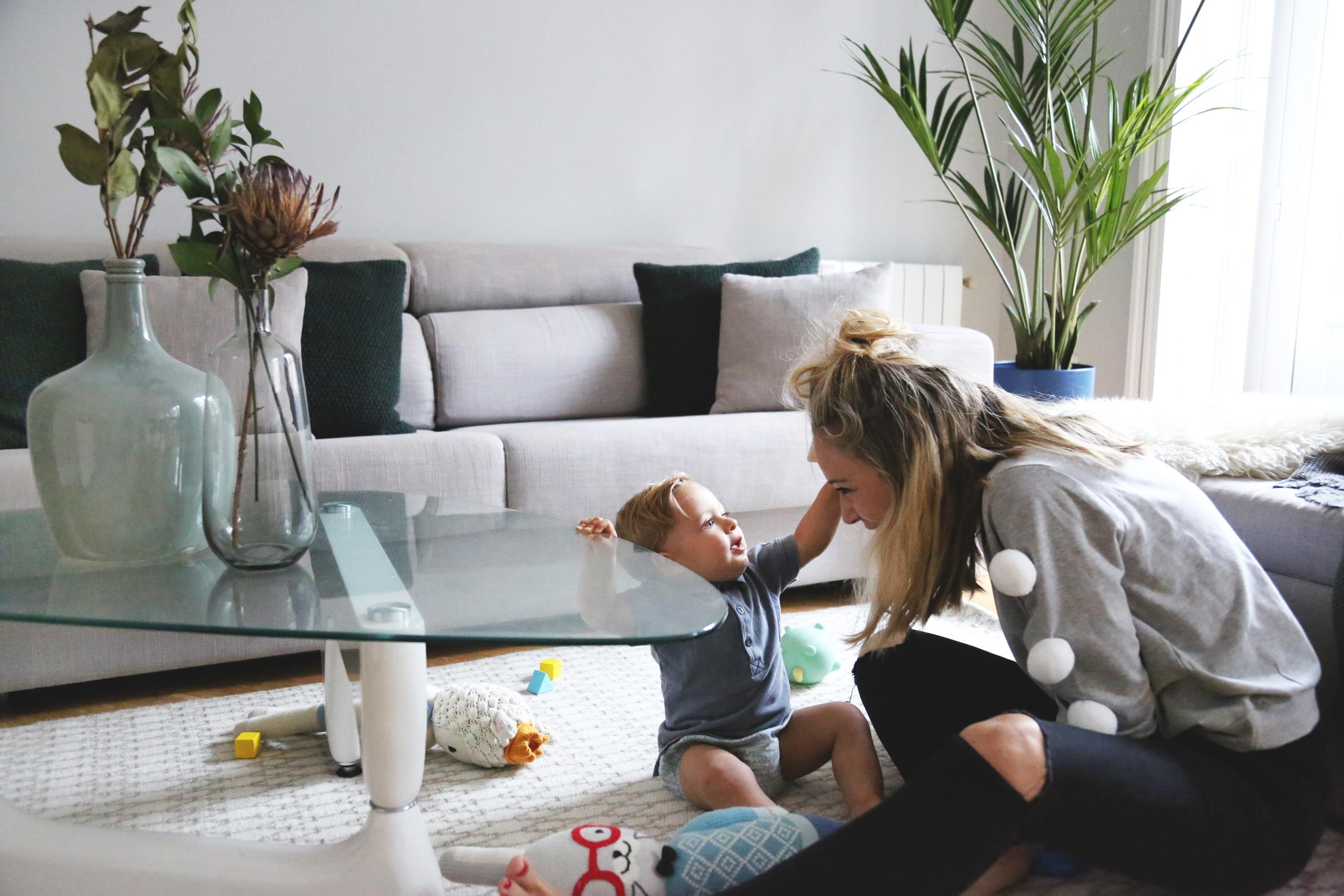 como cuido a mi bebe en casa