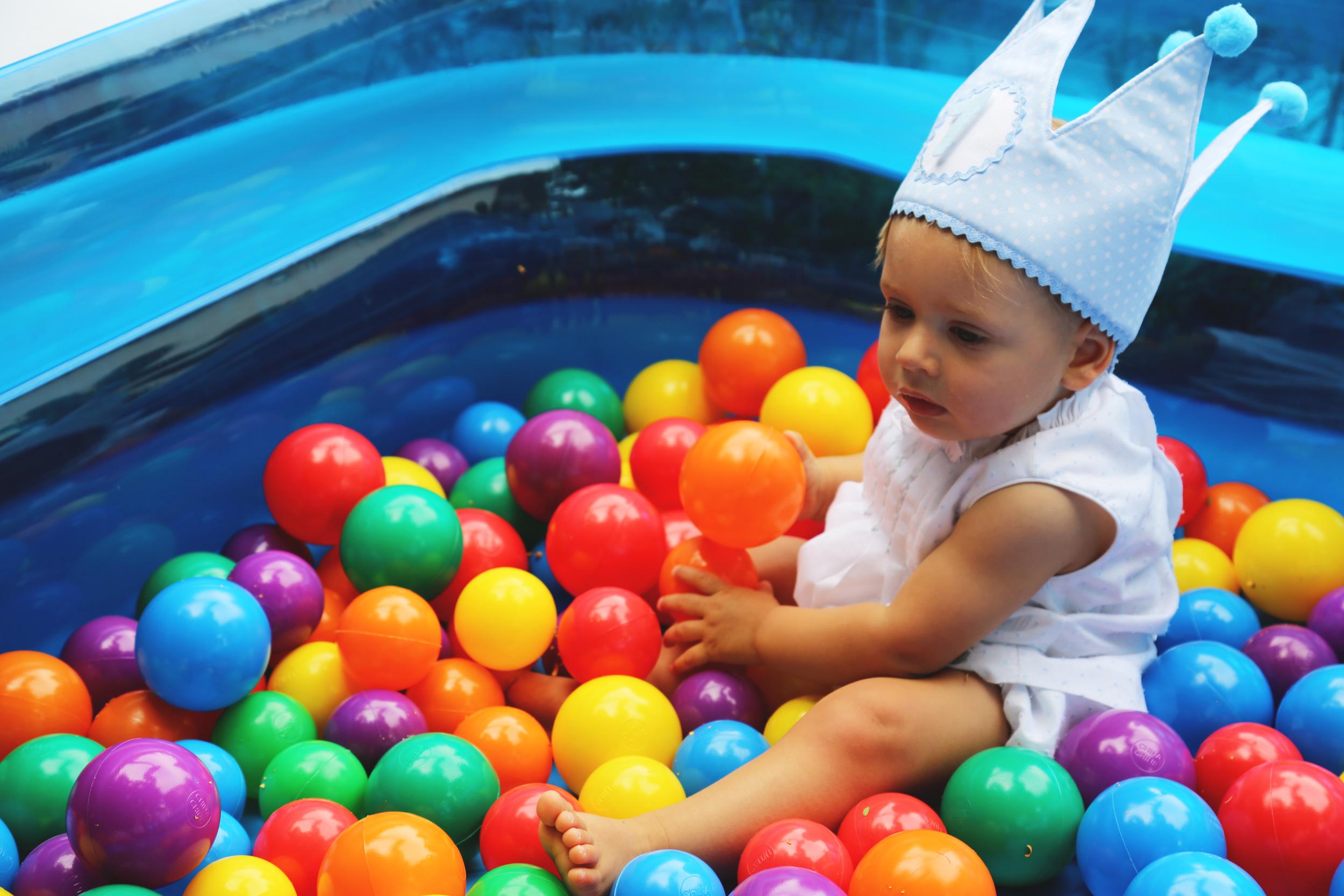 fiesta de bebes y familia