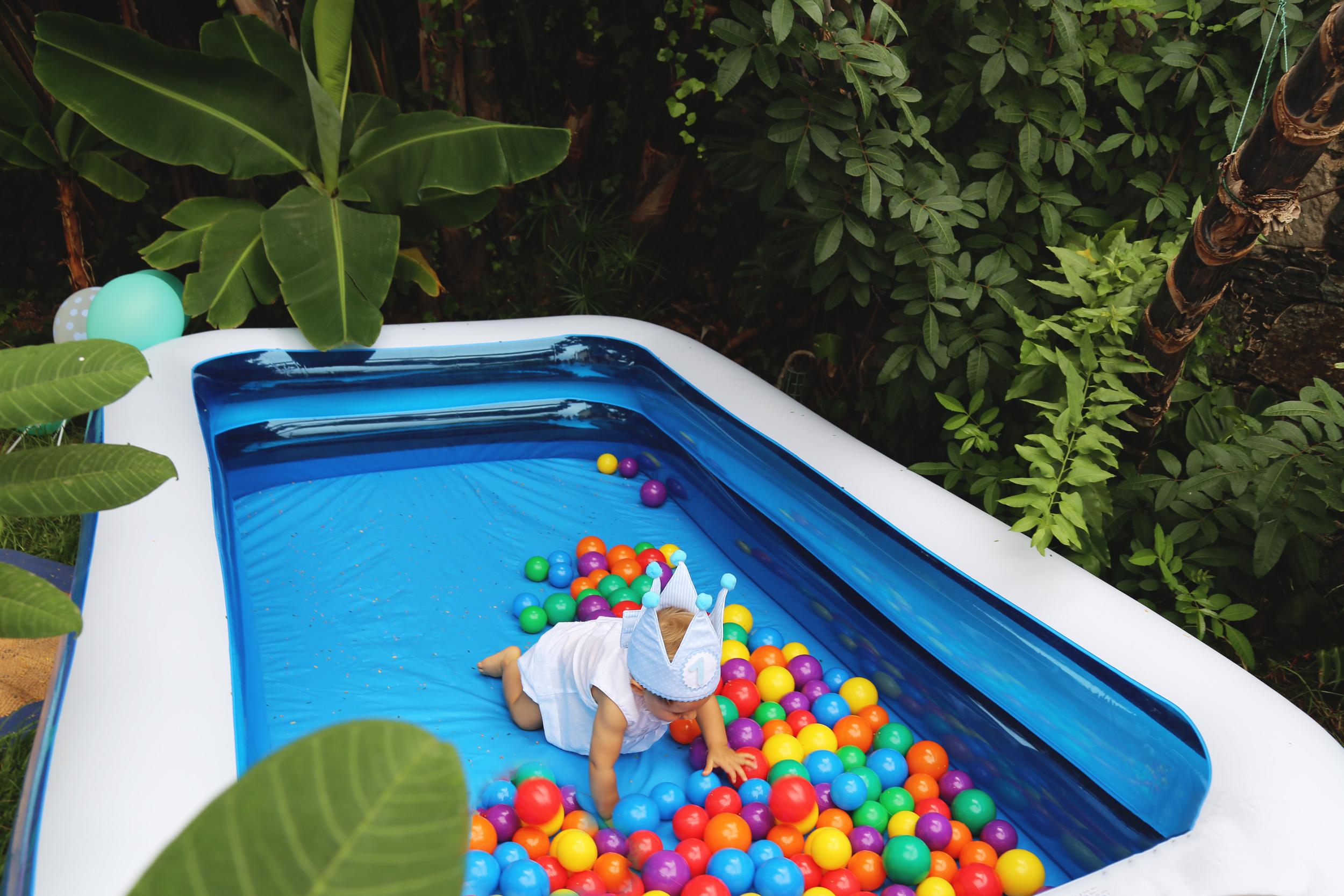 piscina de bolas para bebes