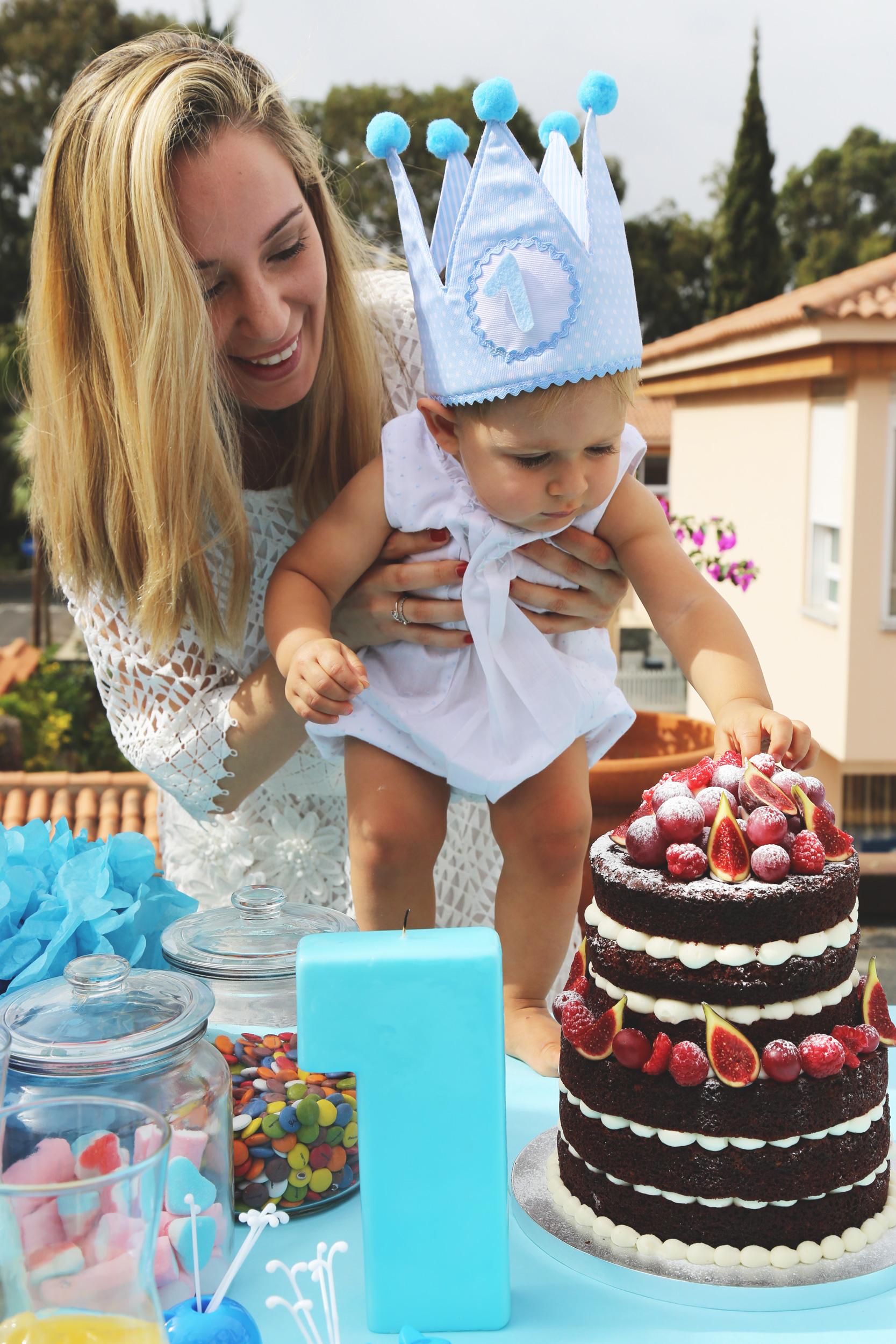 El primer cumpleaños de Luca