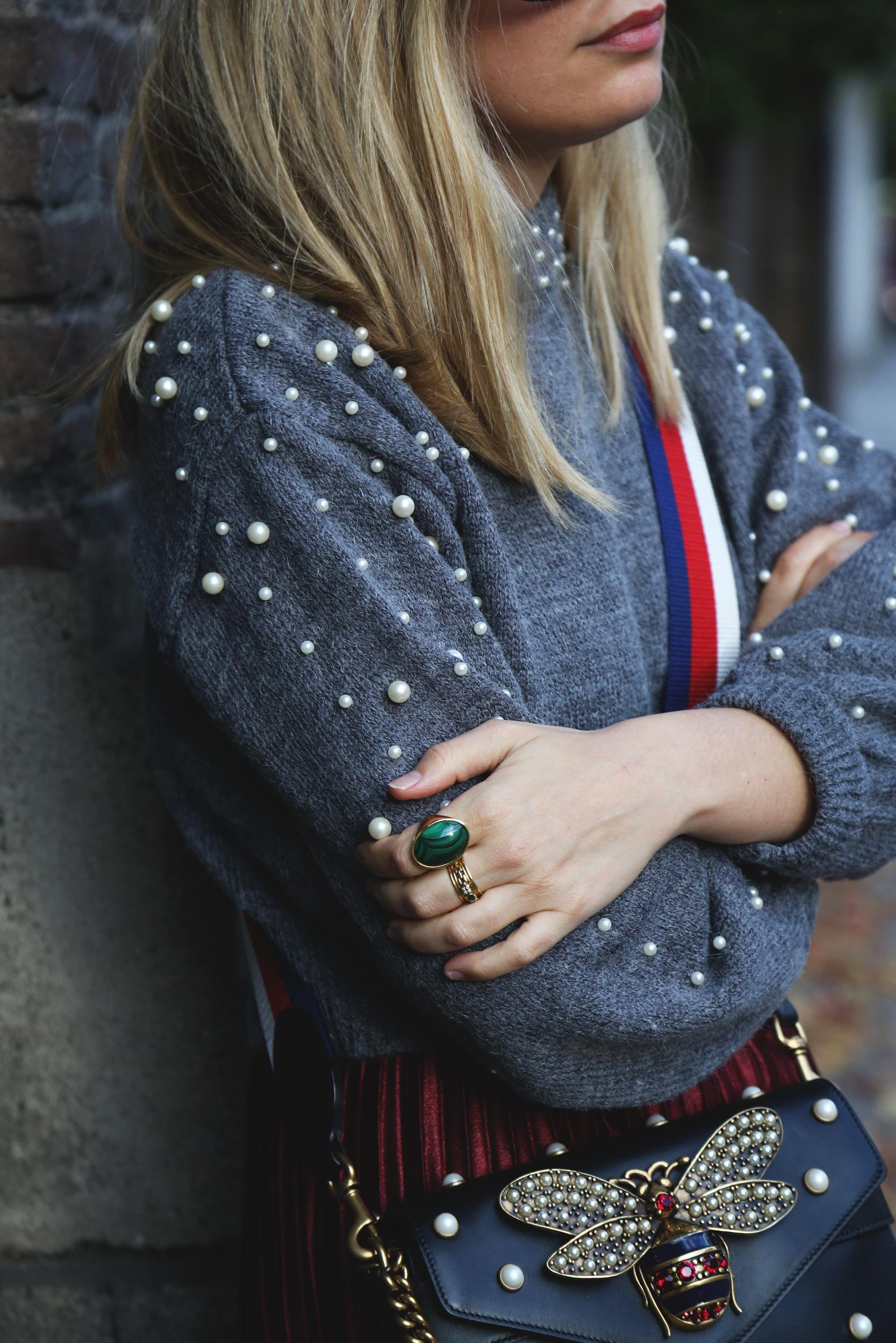 jersey perlas de lana