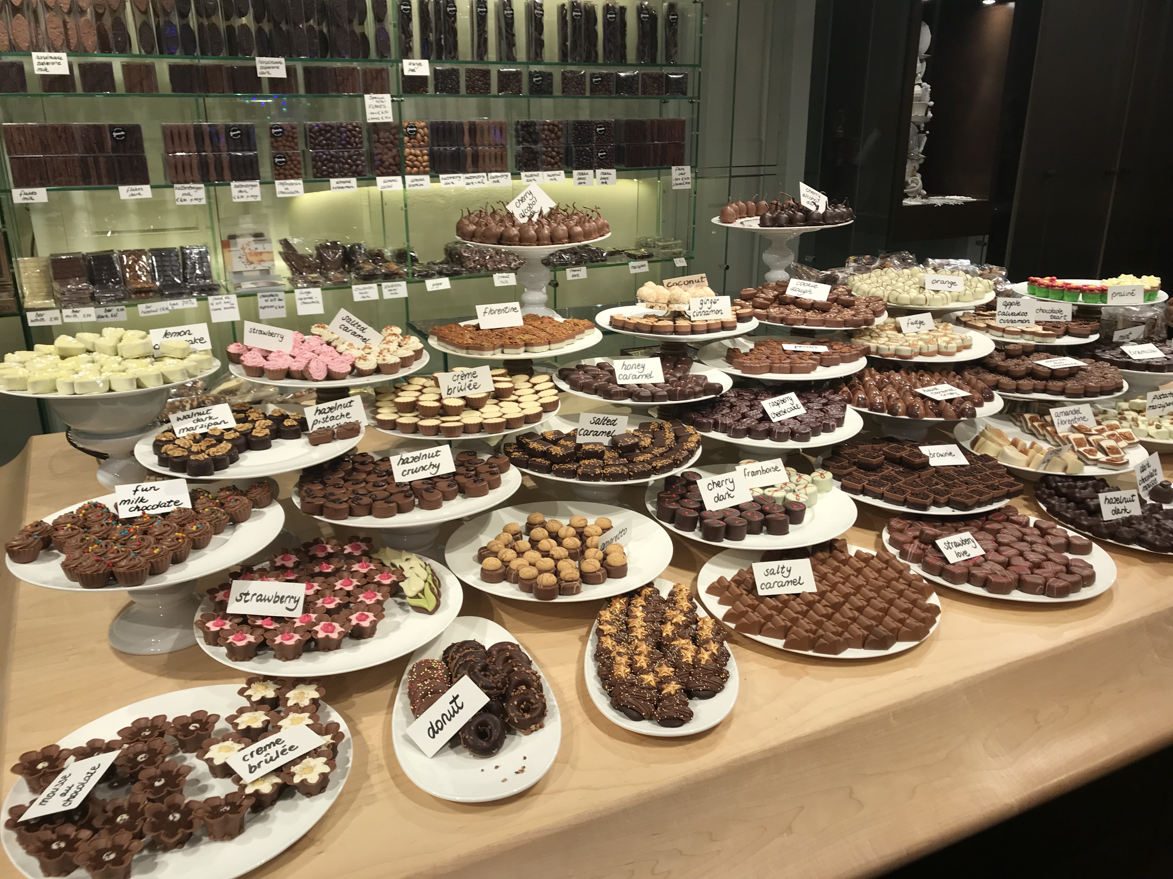 Chocolatería en Amsterdam