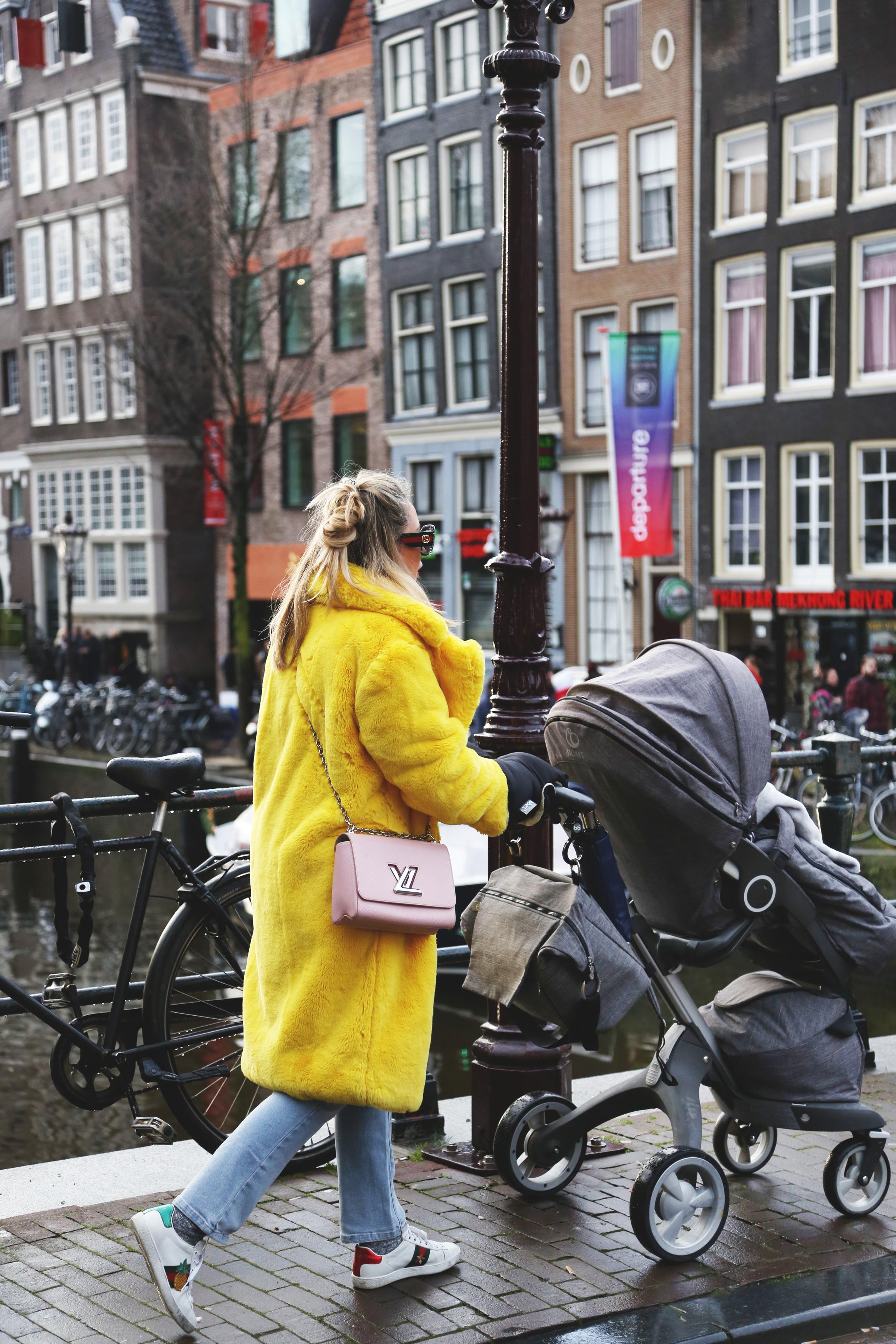 viajar a Amsterdam con bebe