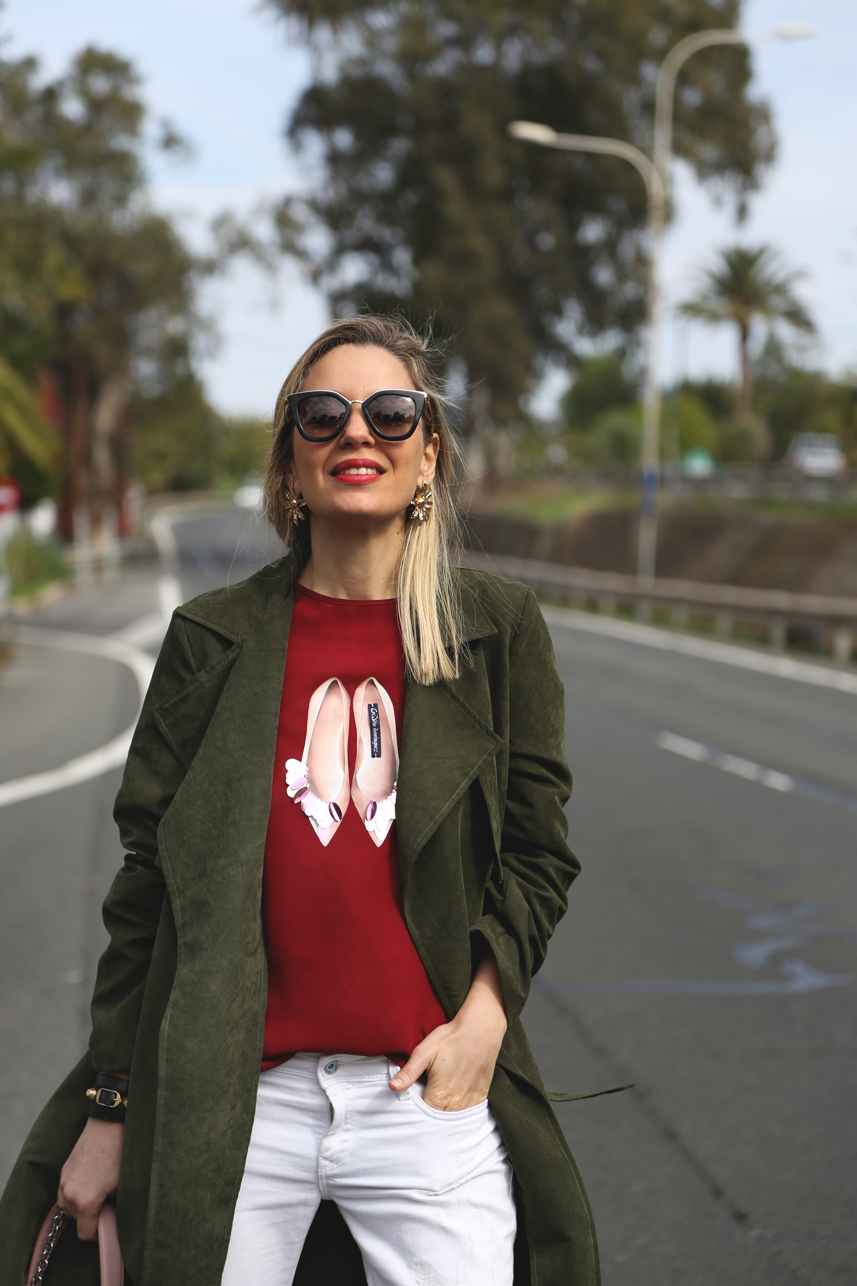 look con trench de ante