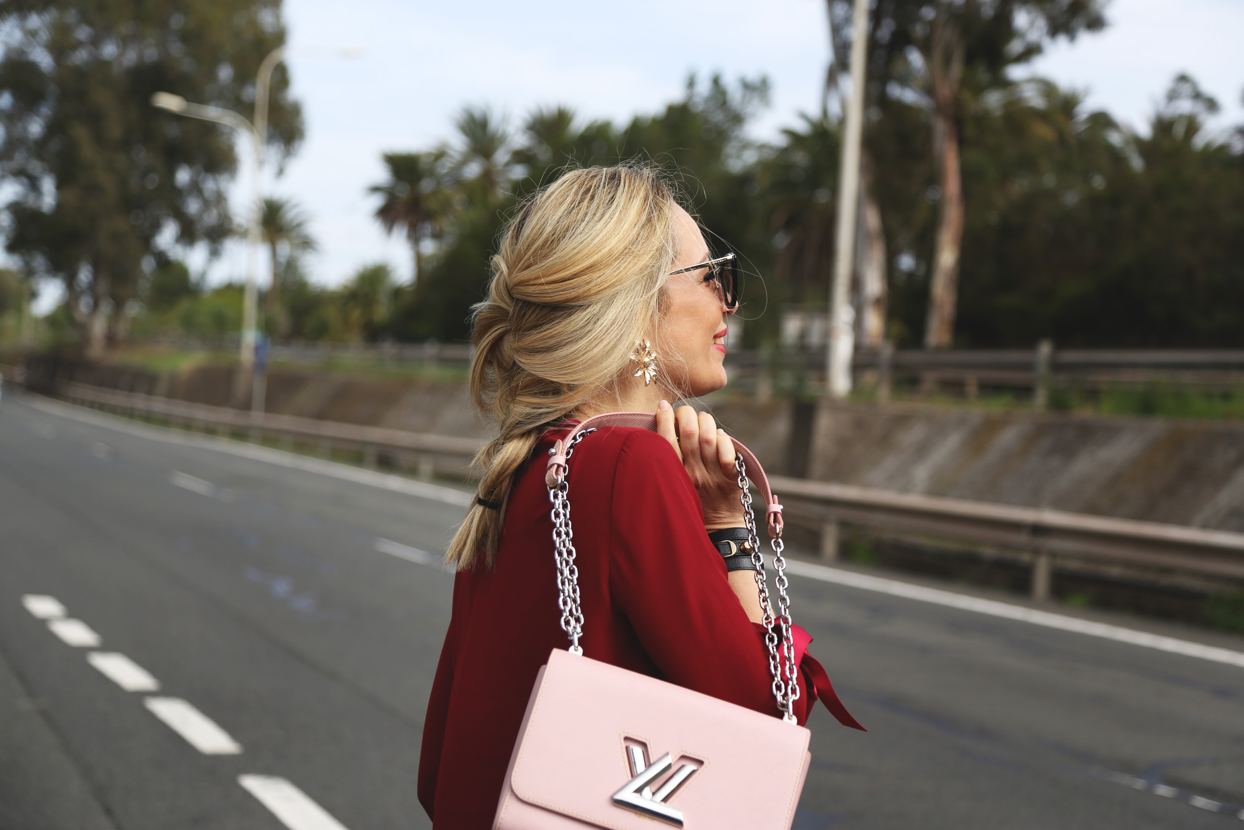 bolso twist lv blogger