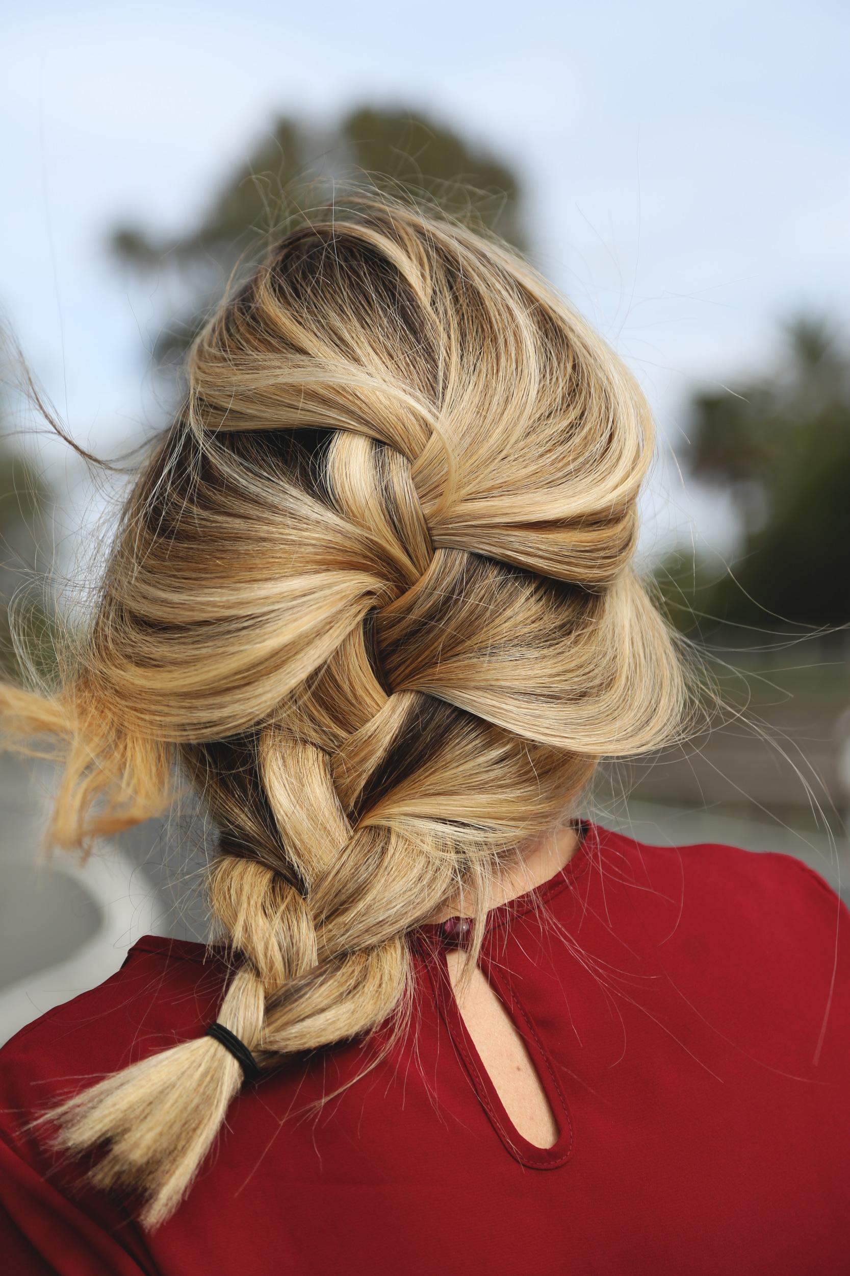 trenza moda tutorial peinados