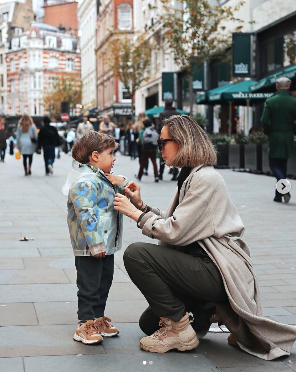 cómo vestir a tu niño en invierno