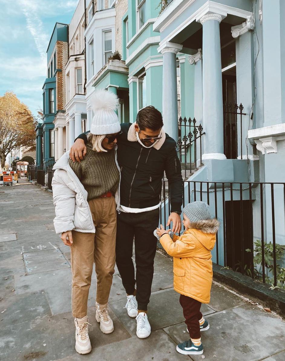 The Touns en familia en Londres